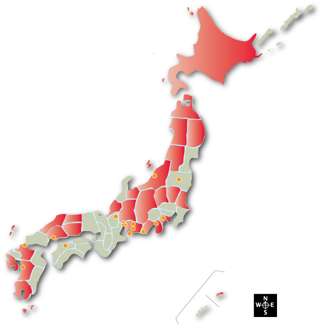 Japan Map Regions.Industrial Cluster Information Investing In Japan S Local Regions