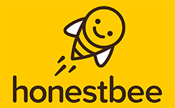 logo of honestbee Japan