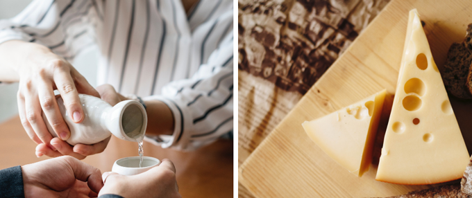 Sake and Cheese Pairing Event