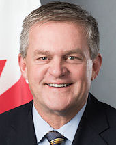 David Alward, Consul General of Canada to New England