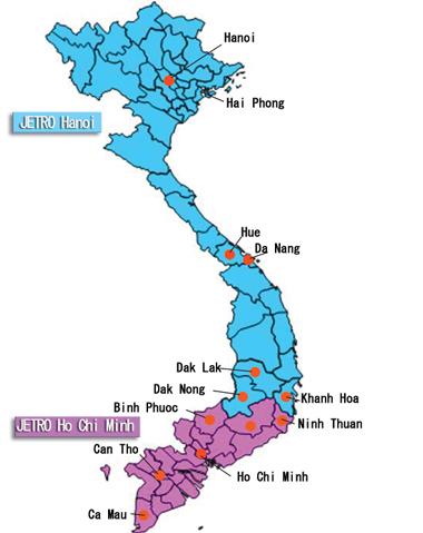 Ho Chi Minh Vietnam Map.About Jetro Vietnam Jetro