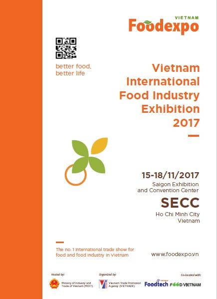 VIETNAM FOOD EXPO 2017 - 2017/11   Online Trade Fair