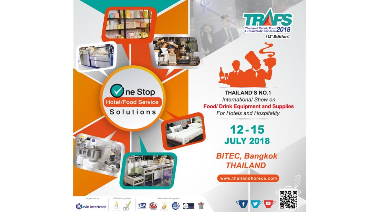 TRAFS 2018 - Thailand Retail, Food & Hospitality Service