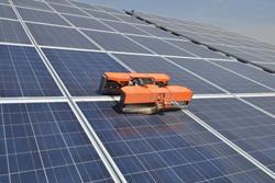 Lightweight Solar Panel Cleaning Robots Miraikikai Inc