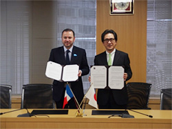 JETRO concludes MOUs with UBIFRANCE and AFII | JETRO Topics