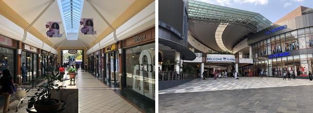 ショッピング モール コロナ